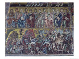 Hell, Detail of the Last Judgement from the Vault Above the Apse, 1225 Giclée-tryk af Coppo Di Marcovaldo