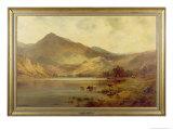 Lochearnhead Giclee Print by Alfred Fontville de Breanski