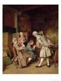 The Art Lovers, or the Painter, 1860 Giclee Print by Jean-Louis Ernest Meissonier