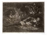 Nothing, the Event Will Tell, Plate 69 of The Disasters of War, 1810-14, c.1863 Giclee Print by Francisco de Goya