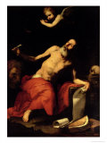 St. Jerome Hears the Last Trumpet, 1626 Giclee Print by Jusepe de Ribera