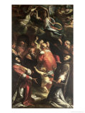 Circumcision of Christ with St. Ignatius of Loyola and St. Francis Xavier Giclee Print by Giulio Cesare Procaccini