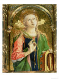 St. Catherine of Alexandria, Detail of the Sant'Emidio Polyptych, 1473 Giclee Print by Carlo Crivelli