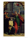 Augustus and the Tiburtine Sibyl Giclee Print by Benvenuto Tisi Da Garofalo
