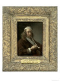 Portrait of a Man, Said to Be the Artist Giclee Print by Gabriel Metsu