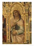 St. John the Evangelist, Detail from the San Martino Polyptych Giclee Print by Carlo Crivelli