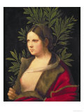 Portrait of a Young Woman Giclee Print by Giorgione