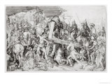 The Great Bearing of the Cross, c.1474 Giclee Print by Martin Schongauer