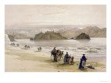 Isle of Graie, Gulf of Akabah, Arabia Petraea, 1839, Plate 108, Vol.III Giclee Print by David Roberts
