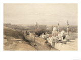 Cairo Looking West, from Egypt and Nubia, Vol.3 Giclee Print by David Roberts