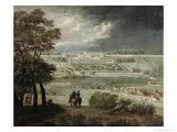 Chateau-Neuf de St. Germain-En-Laye in 1655 Giclee Print by Adam Frans van der Meulen