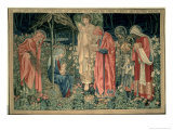The Adoration of the Magi, Made by William Morris and Co., Merton Abbey Giclee Print by Burne-Jones & Morris