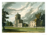 The Astronomical Observatory, History of Oxford Reproduction procédé giclée par William Westall