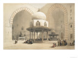 Interior of the Mosque of the Sultan El Ghoree, Cairo, from Egypt and Nubia, Vol.3 Giclee Print by David Roberts