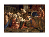 The Birth of St. John the Baptist, 1550-59 Giclee Print by Jacopo Robusti Tintoretto