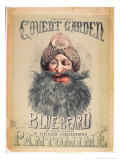 "Christmas Pantomime Blue Beard Produced Byron at Theatre Royal, Covent Garden, c.1860 Giclee Print by Matthew ""matt"" Somerville Morgan"