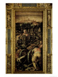 The Capture of Monteriggioni from the Ceiling of the Salone Dei Cinquecento, 1565 Giclee Print by Giorgio Vasari