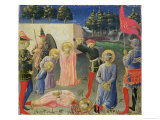 The Beheading of St. Cosmas and St. Damian, from the Predella of the Annalena Altarpiece, c.1434 Giclee Print by  Fra Angelico