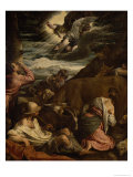 The Annunciation to the Shepherds, c.1557-8 Giclee Print by Jacopo Bassano