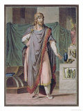 Antiochus, Costume For Berenice Racine, Research on the Costumes and Theatre of All Nations Giclee Print by Philippe Chery