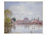 The Bridge at Moret-Sur-Loing, 1890 Giclee Print by Alfred Sisley
