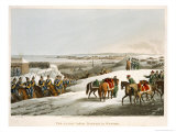 The Allies Before Dantzic in Winter, Engraved by Matthew Dubourg Giclee Print by John Heaviside Clark
