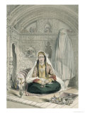 Ladies of Caubul: in and Out Door Costume, Scenery, Inhabitants and Costumes of Afghanistan Giclee Print by James Rattray
