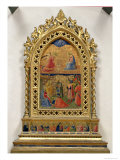 The Annunciation and the Adoration of the Magi Giclee Print by  Fra Angelico