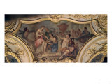 Decorative Panel from the Oval Salon Illustrating the Story of Psyche, 1732-39 Giclee Print by Charles Joseph Natoire