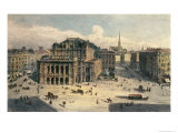 Vienna State Opera House, c.1869 Giclee Print by Rudolph von Alt
