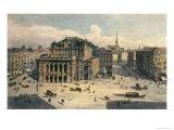 Vienna State Opera House, c.1869 Giclee Print by Rudolph von Alt