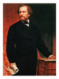 Portrait of Samuel Colt, Inventor of the Revolver, Giclee Print
