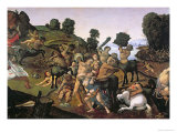 The Fight Between the Lapiths and the Centaurs Giclee Print by  Piero di Cosimo