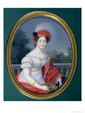 Catherine Paulovna, Grand Duchess of Russia, Queen of Wurttemberg Giclee Print by Friedrich Fleischmann