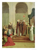 The Mass of St. Martin of Tours, 1654 Giclee Print by Eustache Le Sueur