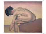 The Bather, 1919 Giclee Print by Felix Vallotton