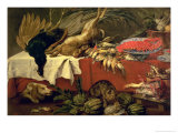 Still Life with Game and Lobster, c.1610 Giclee Print by Frans Snyders Or Snijders