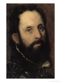 Portrait of Francesco Maria Della Rovere, Duke of Urbino Giclee Print by Federico Fiori Barocci or Baroccio