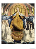 The Virgin Sheltering the Order of Citeaux Giclee Print by Jean The Elder Bellegambe