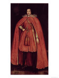 Edward Herbert, Lord Herbert of Cherbury, c.1604 Giclee Print by Robert Peake