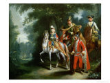 Joseph II, Emperor of Germany Giclee Print by Johann Elias Ridinger