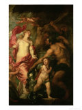 Venus Asking Vulcan For the Armour of Aeneas Reproduction proc&#233;d&#233; gicl&#233;e par Sir Anthony Van Dyck