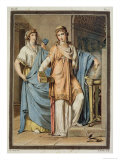 Costume For Berenice by Jean Racine, Research on the Costumes and Theatre of All Nations Giclee Print by Philippe Chery