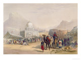 Temple of Ahmed Shauh, King of Afghanistan: Scenery, Inhabitants and Costumes of Afghanistan Giclee Print by James Rattray