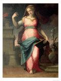St. Barbara Giclee Print by Michele Tosini