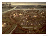 The Battle of Pavia in 1525, c.1530 Giclee Print by Joachim Patenir