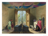 Mosque and Tomb of the Emperor Sooltaun Mahmood of Ghuznee Giclee Print by James Rattray