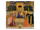 The San Marco Altarpiece, c.1438-40 Giclee Print by  Fra Angelico