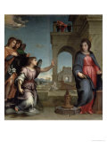 Annunciation, 1512 Lmina gicle por Andrea del Sarto