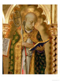 The Perugia Altarpiece, Side Panel Depicting St. Nicholas of Bari, 1437 Giclee Print by  Fra Angelico